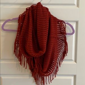 🛍 Burnt Orange Infinity Scarf